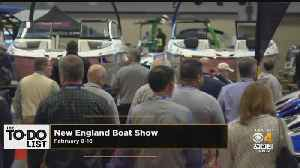 News video: Weekend To Do List: Boat Show, Cupcake Run, Free Art Museum Entry