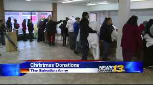 Salvation Army gives 400 local families early Christmas gift [Video]