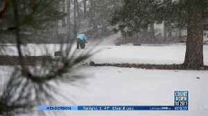 More snow expected at Mt. Charleston during holiday weekend [Video]