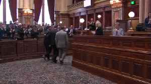 Iowa House Opening Day 1,9,2017 [Video]