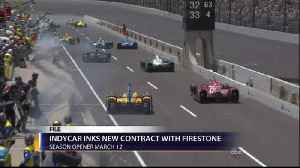 New Contract Extension Between Firestone Tires and IndyCar S [Video]