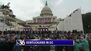 Kentuckians in DC for Inauguration Weekend [Video]