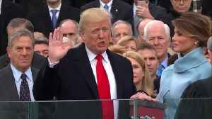 Inauguration and Interview with Dr. Taylor 1,20,2017 [Video]
