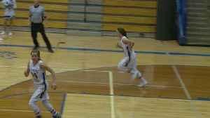 Stevens girls roll past Huron [Video]