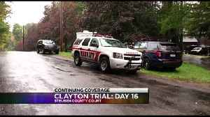 Clayton Trial Day 16 [Video]