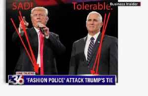 'Fashion Police' Attack Trump's Tie [Video]