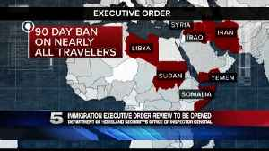 DHS, OIG Initiate Review on Immigration Executive Order [Video]