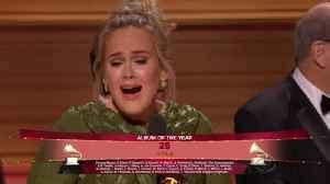 Adele Sweeps Major Grammy Categories [Video]