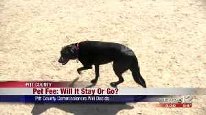 County pet fee up for discussion by Pitt County commissioner [Video]