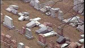 Vandals hit Missouri Jewish cemetery [Video]