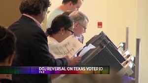 Justice Dept. Drops Texas Voter Suit [Video]
