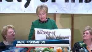 Hillary Clinton Comes To Scranton [Video]