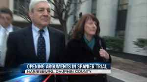 Spanier in Court [Video]