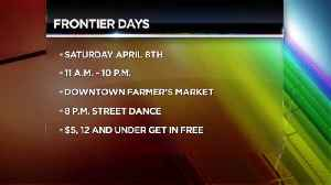 Frontier Days Interview 3-27-17 [Video]