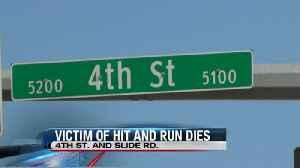 Victim of Hit and Run Dies [Video]