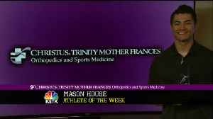 Athlete of the week Mason House [Video]