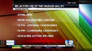 WTWO Today Guest Relay for Life of the Wabash Valley 4-17-17 [Video]