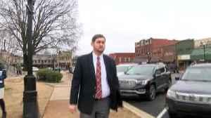 Limestone County Judge Douglas Patterson leaving court [Video]