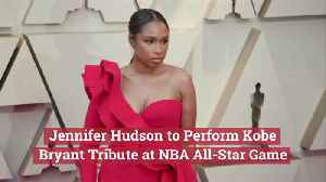 Jennifer Hudson At The NBA All-Star Game [Video]