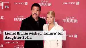 Sofia Richie Needed Failure [Video]