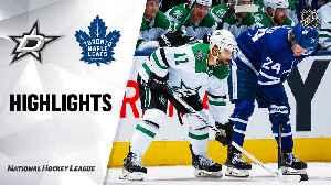 NHL Highlights | Stars @ Maple Leafs 2/13/20 [Video]