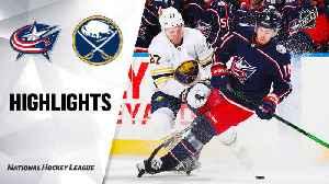 NHL Highlights | Blue Jackets @ Sabres 2/13/20 [Video]