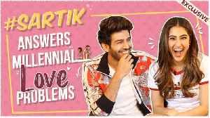 Sara Ali Khan & Kartik Aaryan SOLVE Love ISSUES For Valentine's Day | Love Aaj Kal | EXCLUSIVE [Video]