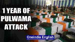Pulwama, 1 year on: Nation remembers sacrifice of the 40 martyrs | Oneindia News [Video]