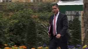 News video: Cabinet ministers arrive at Downing Street for first meeting