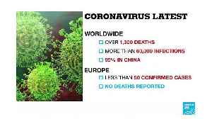EU health ministers meet to discuss prevention of Coronavirus in Europe [Video]