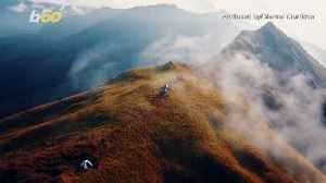 Head in the Clouds! Check out This Amazing Footage of Hikers on the Peak of a Mountain in the Philippines! [Video]