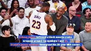 Celebrities Honor Kobe Bryant With Tattoos [Video]