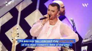 Sam Smith Doesn't Like Valentine's Day [Video]
