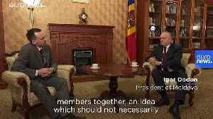 'Europe can only be stronger with Russia,' claims Moldova's president [Video]