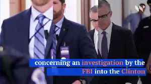 News video: Andrew McCabe Won't Face Charges From Department of Justice