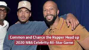 Common And Chance the Rapper Team Up For NBA Show [Video]