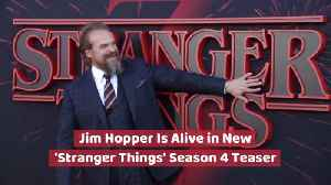 Jim Hopper Is Alive In 'Stranger Things' [Video]