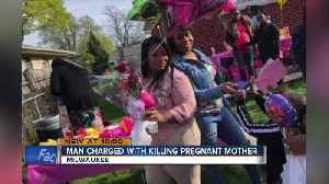 Milwaukee police arrest a 33-year-old man in connection to the shooting death of a pregnant woman [Video]
