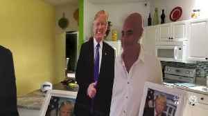 Port St. Lucie dialysis patient not allowed to bring life-size President Trump cardboard cutout for treatment [Video]