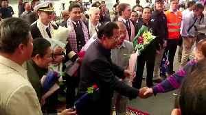 Cruiseliner passengers set foot in Cambodia [Video]