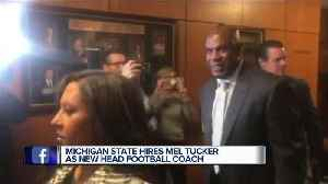 Michigan State prepares to introduce Mel Tucker as new head football coach [Video]