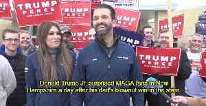 Donald Trump Jr. SURPRISES MAGA Fans A Day After New Hampshire Rally [Video]