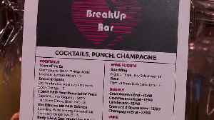 Drown your Valentine's Day sorrow at the 'Break Up Bar' [Video]
