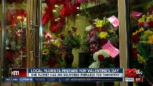 Local florists prepare for Valentine's Day [Video]