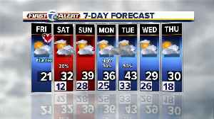 Cold temperatures in metro Detroit Friday before a warm-up this weekend [Video]