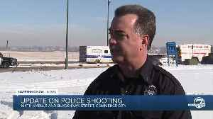 Suspect dead after officer-involved shooting near 104th Avenue, Blackhawk Street in Commerce City [Video]