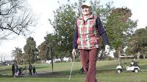 99-Year-Old Golfer Is an Inspiration [Video]