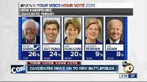 Democratic candidates move on to new battleground states [Video]