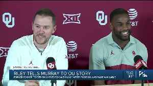 Sooners Introduce Demarco Murray as RB Coach [Video]