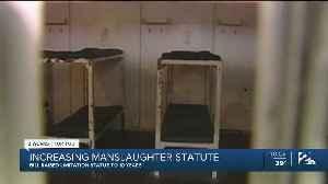 Increasing Manslaughter Statute: Bill Raised Limitation Statue To 10 Years [Video]